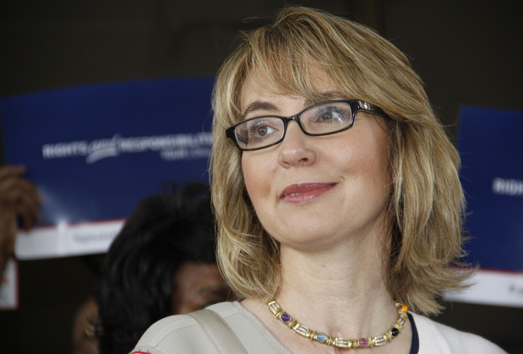 Former U.S. Rep. Gabrielle Giffords, who was shot in the head in 2011, and her husband, Mark Kelly, plan to join New York Attorney General Eric Schneiderman at the Saratoga Springs Arms Fair on Sunday to highlight gun control.