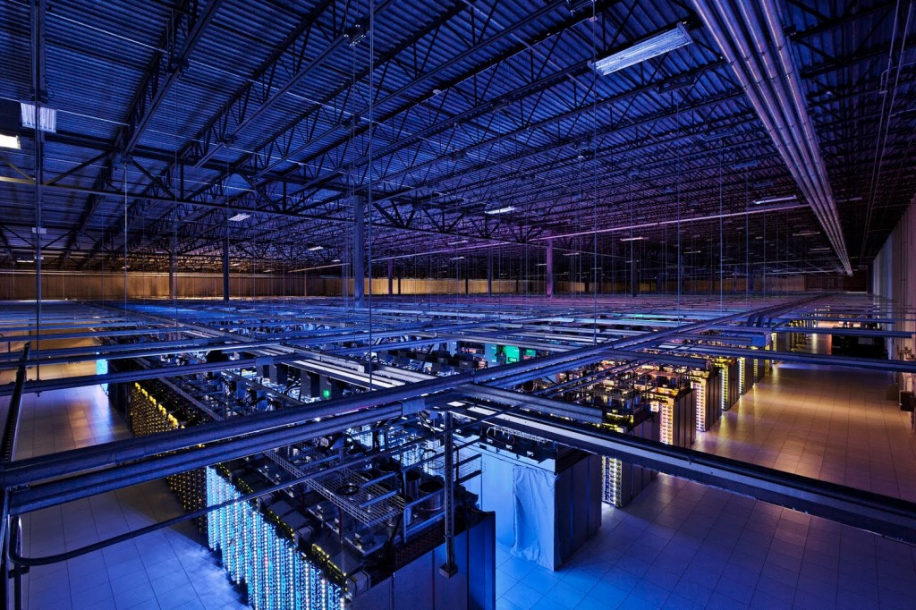 Google said Wednesday it was not aware of the government intercepting information from its data centers, like this one in Hamina, Finland.