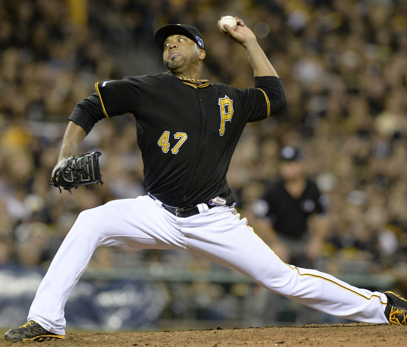 Francisco Liriano, who resurrected his career this season with the Pittsburgh Pirates, allowed four hits over seven innings in a dominating performance in a 6-2 victory against the Cincinnati Reds.