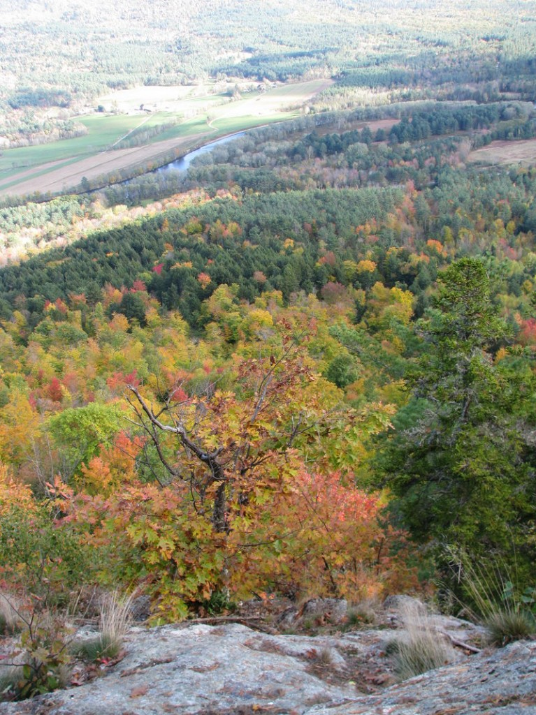 Mount Will in Bethel is one of the sites offering a splendid foliage view, with just a three-mile hike.