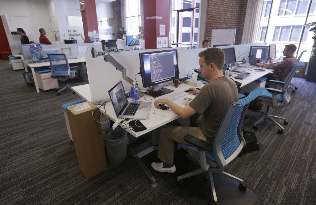 Workers at the Target Technology Innovation Center office in San Francisco are developing the company's ability to market to online buyers. Target Corp., based in Minneapolis, joins other major retailers opening technology offices in recent months in high-tech colonies, particularly in Silicon Valley and San Francisco.