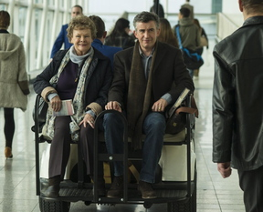 "Judi Dench and Steve Coogan are on a mission in ""Philomena."""