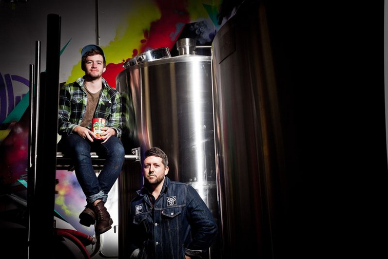 Noah, left, and Peter Bissell are planning a larger brewery on Thompson's Point in Portland.