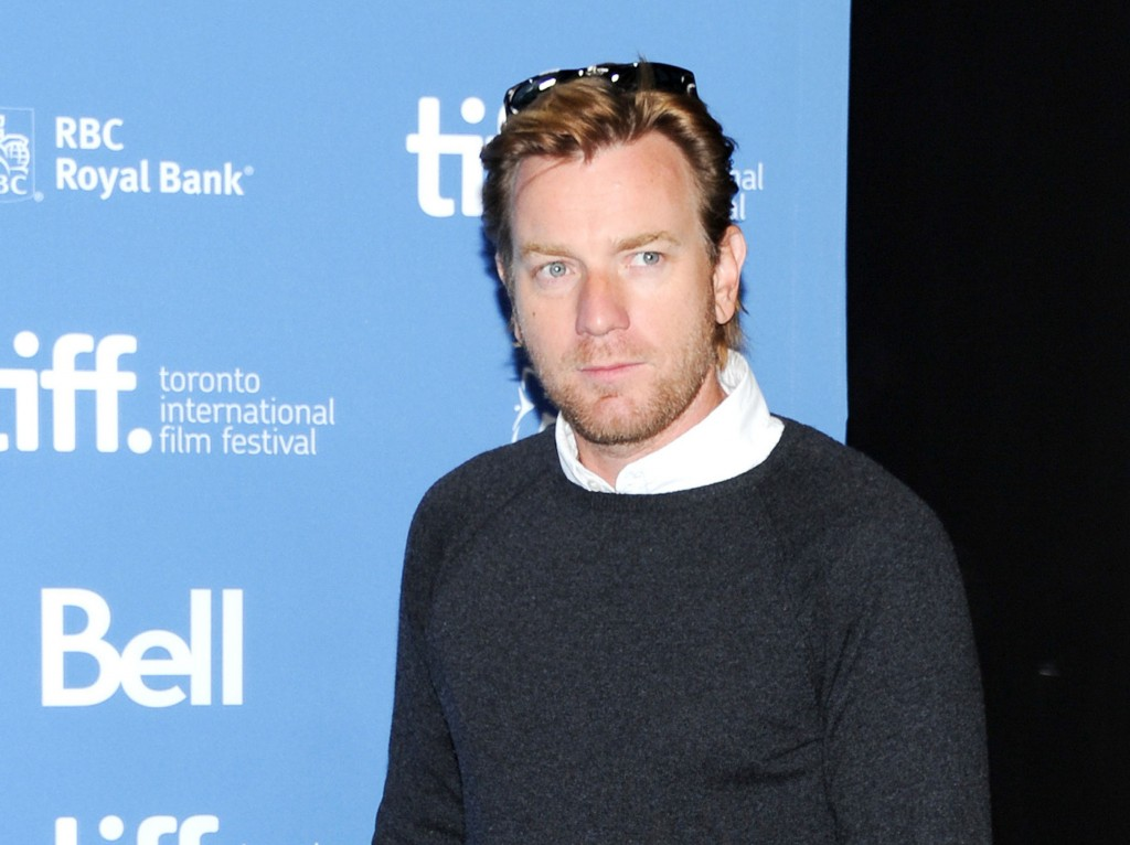 "Actor Ewan McGregor appears at a news conference for ""August: Osage County"" on Sept. 10 at the 2013 Toronto International Film Festival."