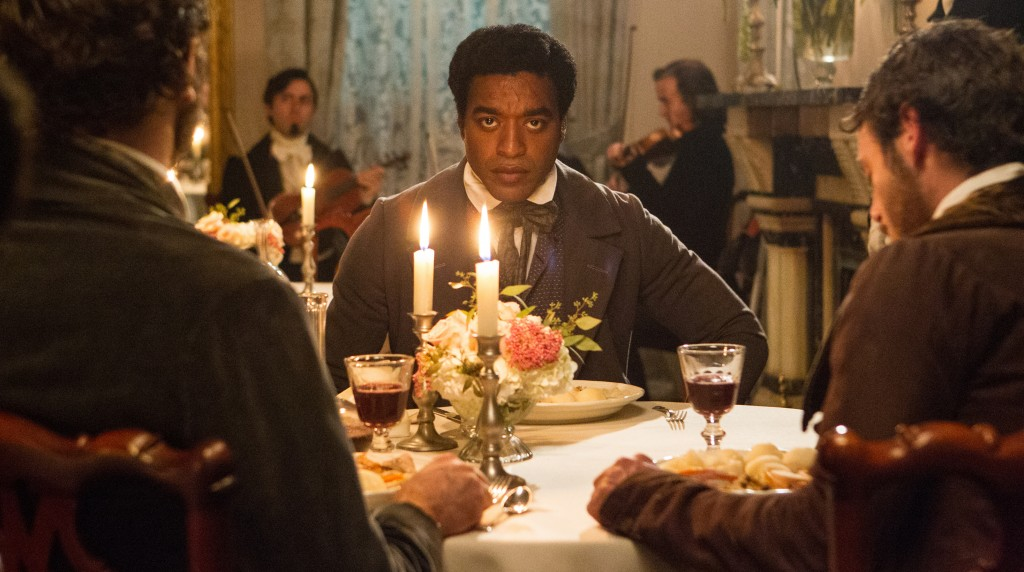 "Chiwetel Ejofor as Solomon Northup in a scene from ""12 Years a Slave,"" which arrives in local theaters this week."