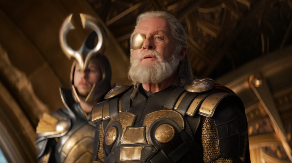 "Anthony Hopkins in ""Thor: The Dark World"""