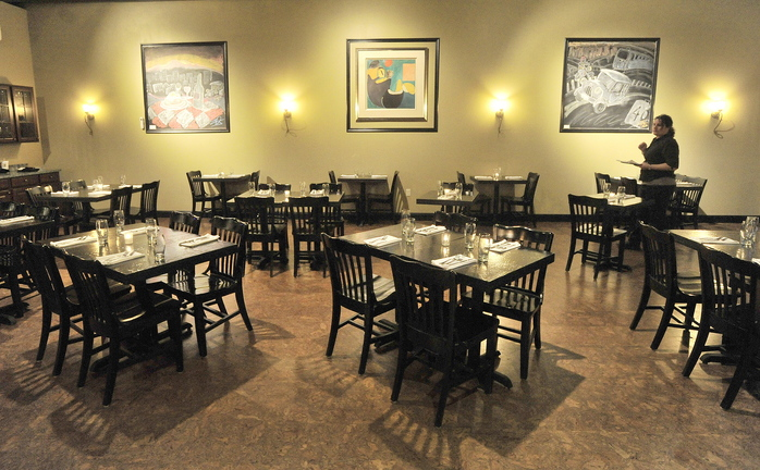 Oscar's New American in Yarmouth is located in the space on Route 1 formerly occupied by Sea Grass café, with fine food prepared by chef Nick Krunkkala.