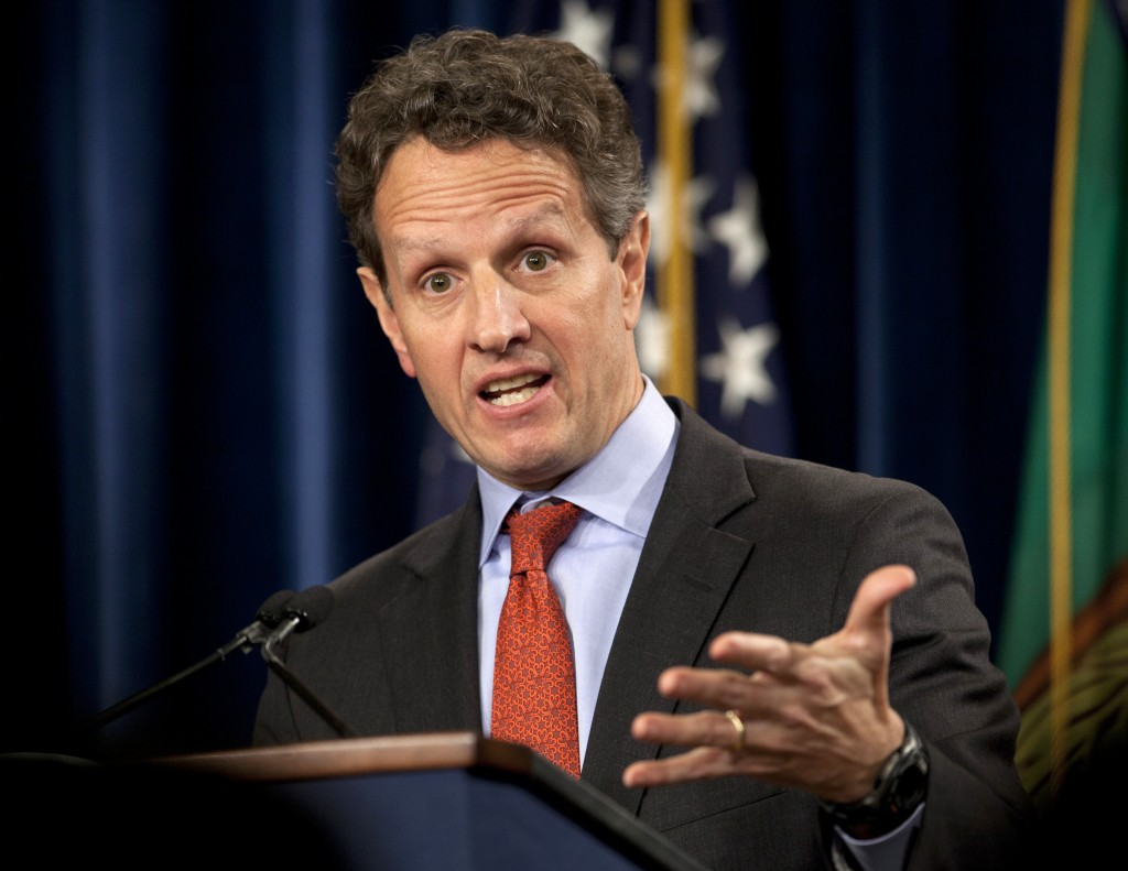 Former Treasury Secretary Timothy Geithner is joining private equity firm Warburg Pincus LLC. The firm announced on Saturday that Geithner will serve as president and managing director of the firm starting March 1, 2014. Geithner played a central role in devising the U.S. government's response to the financial crisis of 2008-2009.