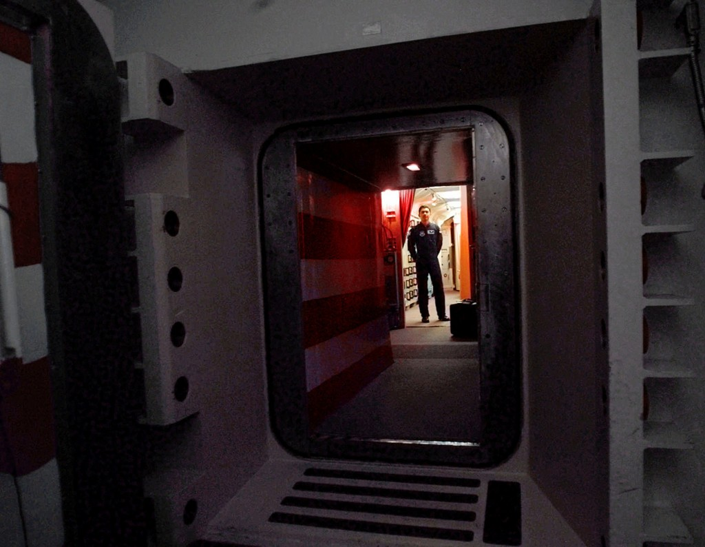This April 15, 1997 file photo shows an Air Force missile crew commander standing at the door of his launch capsule 100-feet under ground where he and his partner are responsible for 10 nuclear-armed ICBM's, in north-central Colorado. Trouble inside the Air Forceís nuclear missile force runs deeper and wider than officials have let on. An unpublished study for the Air Force obtained by The Associated Press cites ìburnoutî among launch officers with their finger on the trigger of 450 weapons of mass destruction. And this: evidence of broader behavioral issues across the intercontinental ballistic missile force, including sexual assault and domestic violence.