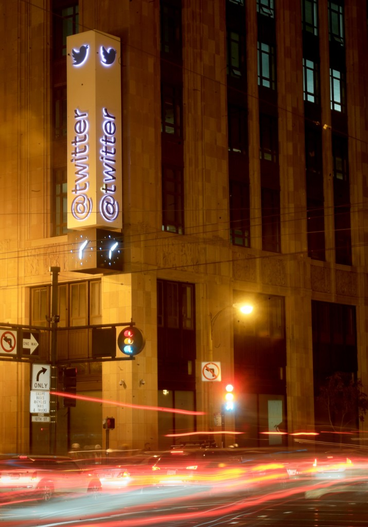 Cars pass Twitter headquarters in San Francisco. The success last week of Twitter's IPO provided a springboard for a new wave of potentially hot IPOS by trendy online services.