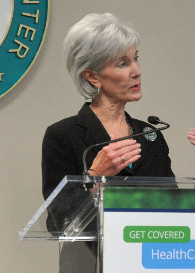 Health and Human Services Secretary Kathleen Sebelius talks about the Affordable Care Act on Friday in Atlanta.