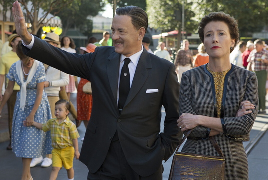 "Tom Hanks and Emma Thompson in ""Saving Mr. Banks."""