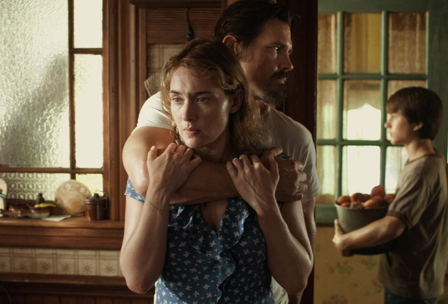 "Kate Winslet, Josh Brolin and Gattlin Griffith in ""Labor Day."""