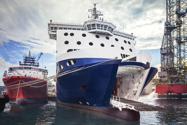 The 528-foot Nova Star will cruise at 21 knots, about 24 mph, and make the crossing between Portland and Yarmouth, Nova Scotia, in nine to 10 hours.