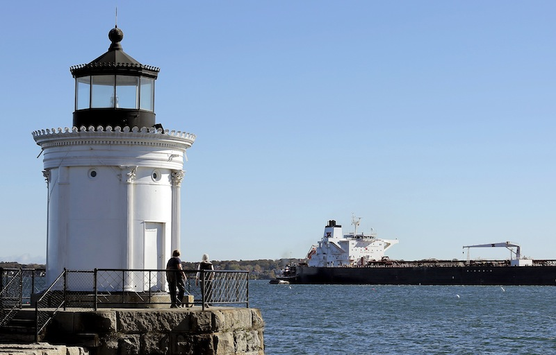 South Portland's ordinance would prohibit loading crude oil, including tar sands, in bulk onto marine tank vessels and would block construction or expansion of terminals and other facilities for that purpose.