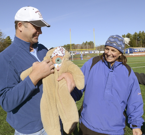 Deb Lebel and her husband, Mike, had quite the week. A new baby named Ben on Monday, her team's state championship Saturday.