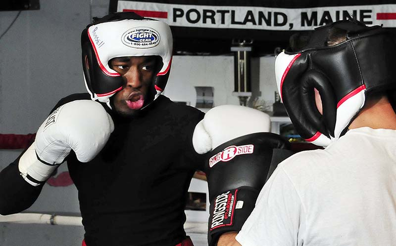 Russell Lamour is one of the fighters Saturday night on the first Portland Expo card in 20 years.