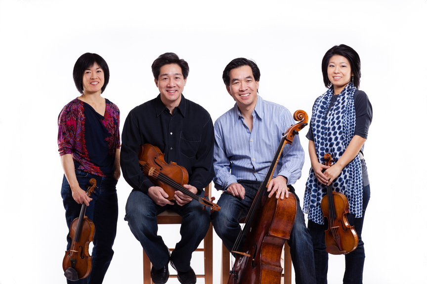 Phillip, left, and David Ying (with other members of the Ying Quartet, Janet Ying and Ayano Ninomaya, right) will replace Lewis Kaplan, founding director of the Bowdoin International Music Festival, in 2014.