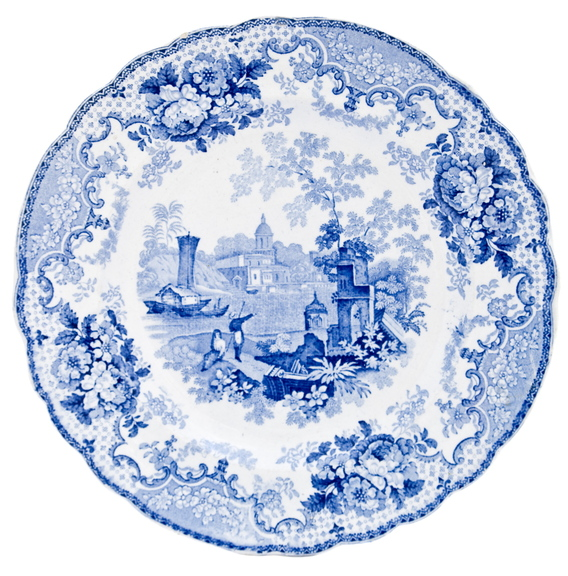 Wash china in tepid water. Very hot water can cause tiny cracks.