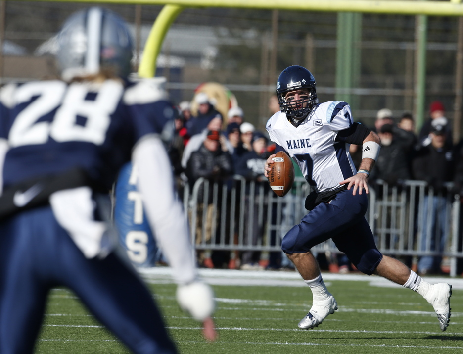 Maine quarterback Marcus Wasilewski had one of those games in the regular-season finale, when the Black Bears lost at New Hampshire. He was sacked five times, threw an interception and fumbled during a sack. And now comes a rematch, at home in the NCAA playoffs.