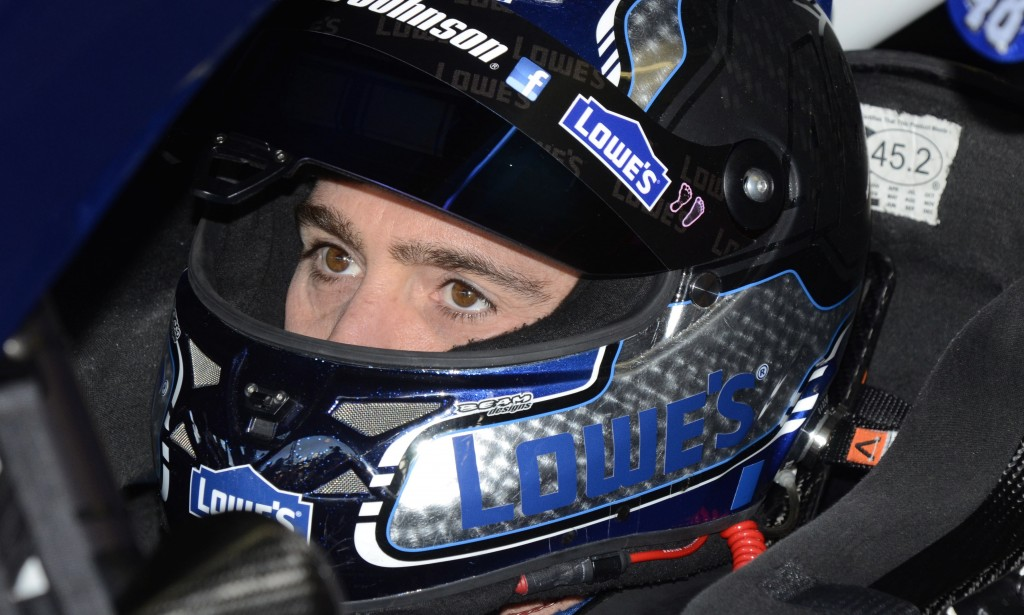 Driver Jimmie Johnson is a champion but doesn't have a flashy style or a big following.
