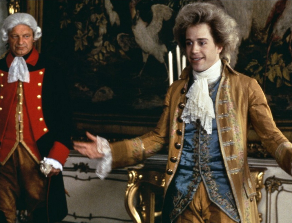 "Tom Hulce in ""Amadeus."""