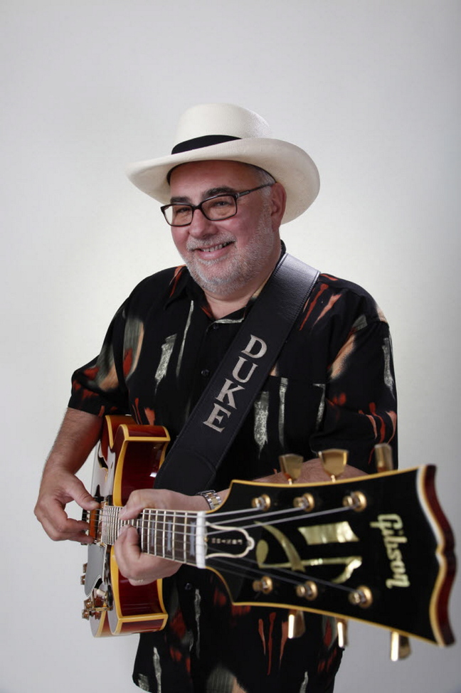 The Duke Robillard Band will play blues at One Longfellow Square in Portland on Saturday.