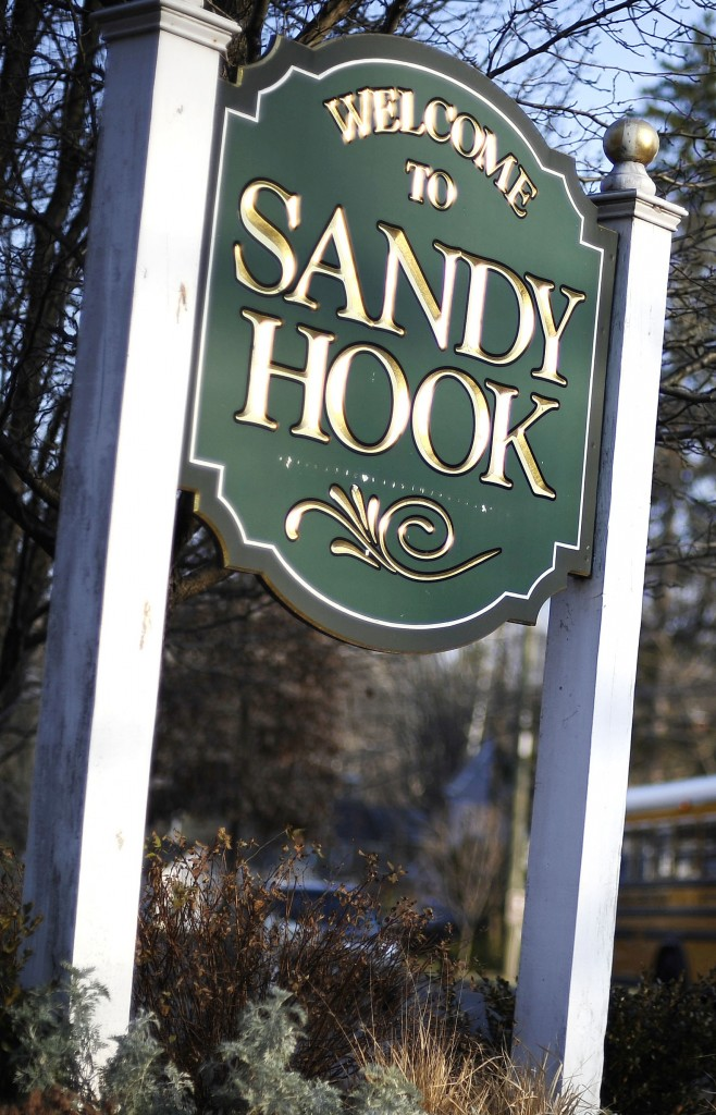 Sandy Hook in Newtown, Conn., is home to Sandy Hook Elementary School, scene of shootings last year.