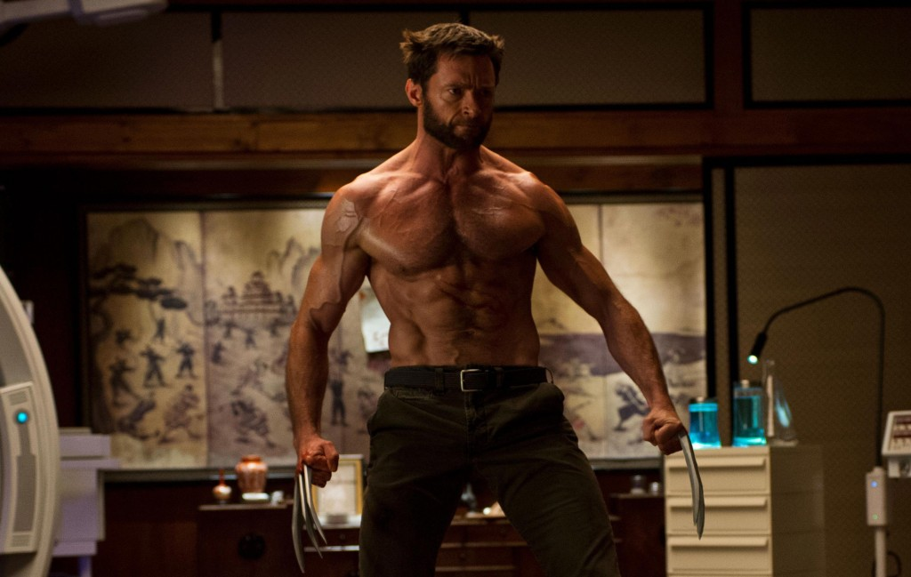 "Hugh Jackman in ""The Wolverine."""