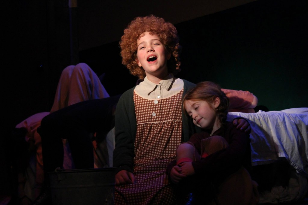 "Lyric Music Theater in South Portland presents the musical ""Annie"" through Dec. 21."
