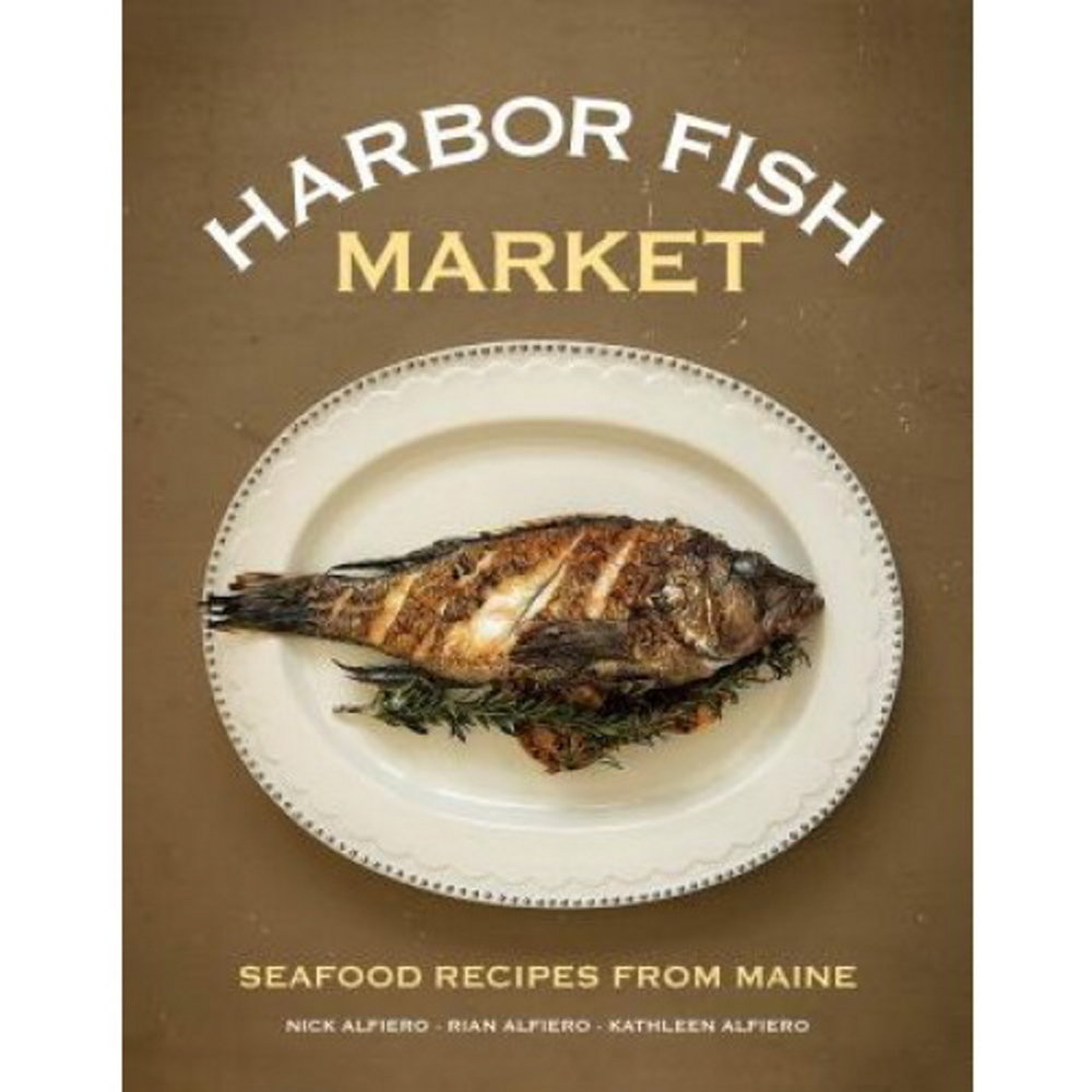 Cookbooks, like this one from Harbor fish Market, are always at hit.