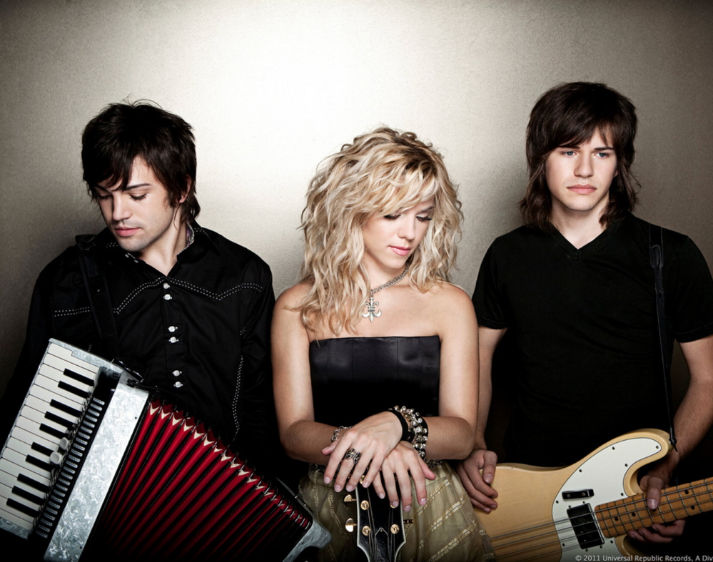 The Band Perry performs with Scotty McCreery on Jan. 31 at the Cross Insurance Center in Bangor. Tickets are on sale now.