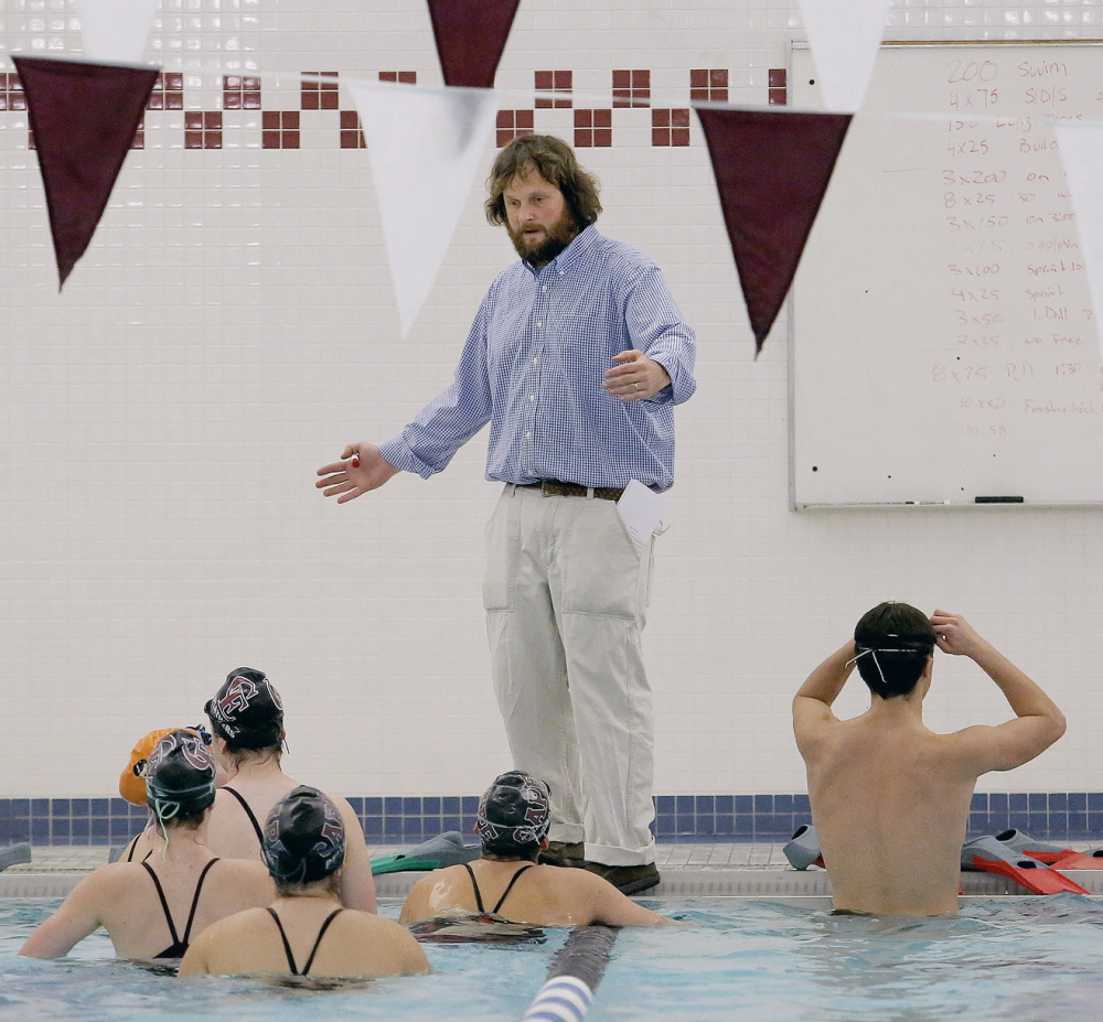 Coach Ben Raymond and the Cape Elizabeth swim team know how to extend themselves, and once again, the talent pool for the Capers runs deep.