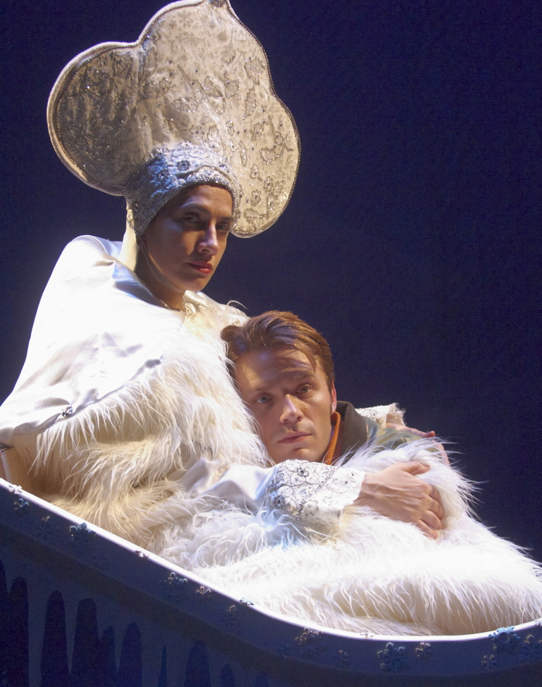 "Portland Stage Company presents ""The Snow Queen"" through Dec. 22."