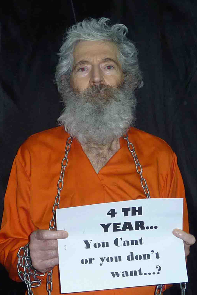 Robert Levinson has been held hostage in Iran for almost seven years.