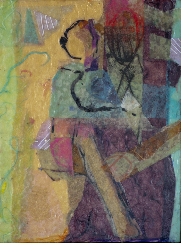 """""""Little Dancer"""" by Wendy Patterson of Gray is part of her series, """"The Twenty."""""""