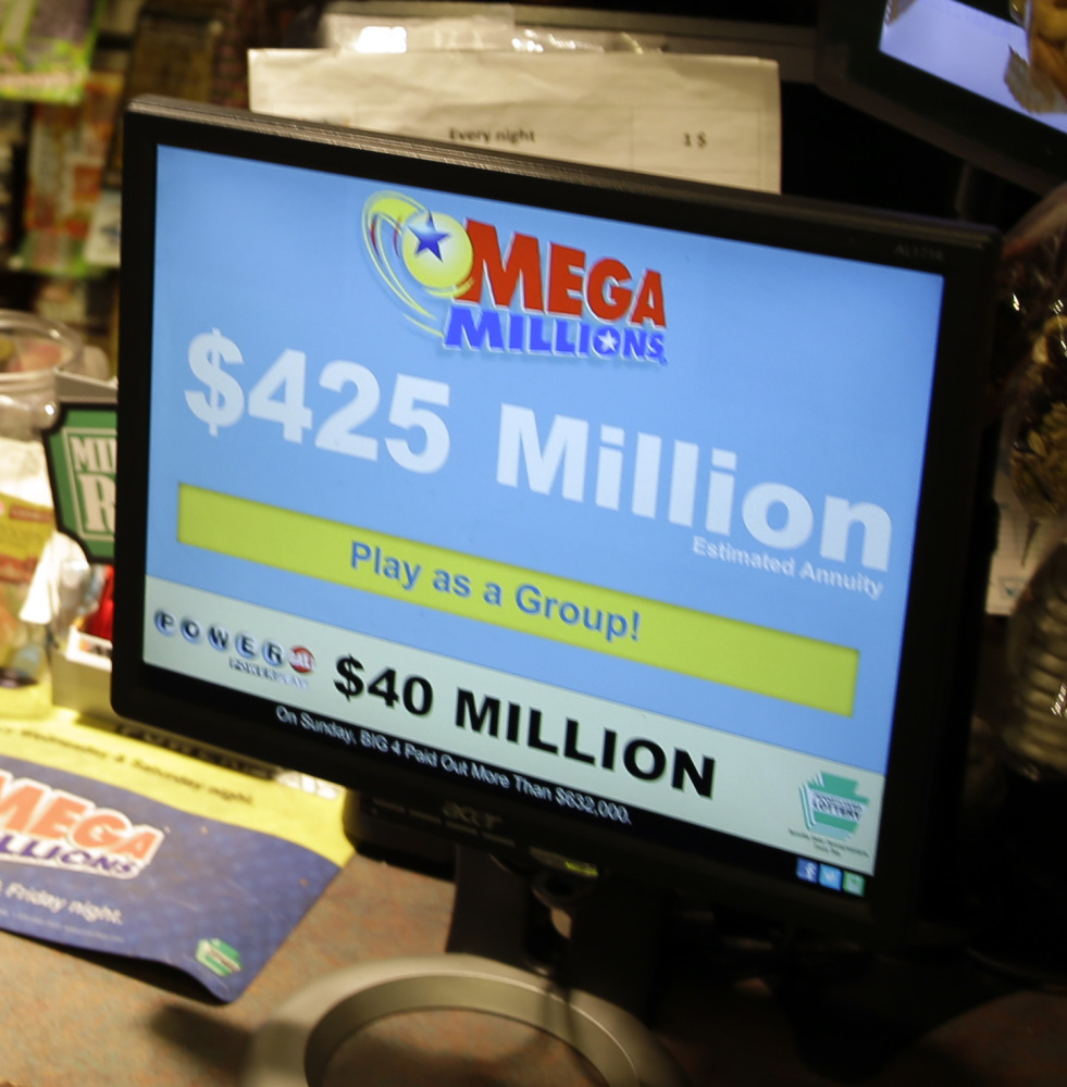 After nobody hit Friday's $425 million jackpot, officials said Tuesday's drawing was worth $550 million.