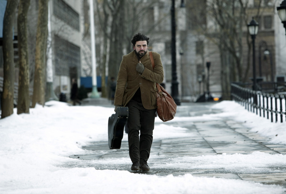 """Oscar Isaac in a scene from """"Inside Llewyn Davis."""" Isaac won the role in part because of his training in classical guitar."""