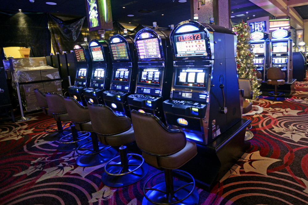 Slot machines at Oxford Casino generate $1.2 million a month for the state's education department.