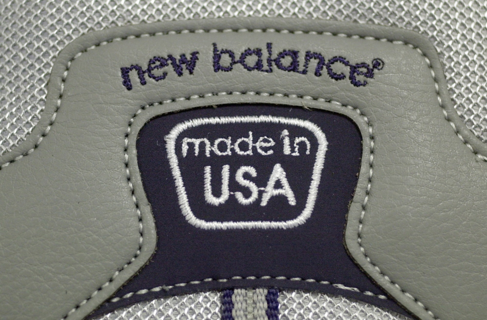 New Balance, which manufactures athletic shoes in Maine, is the only shoe company in favor of tariffs.