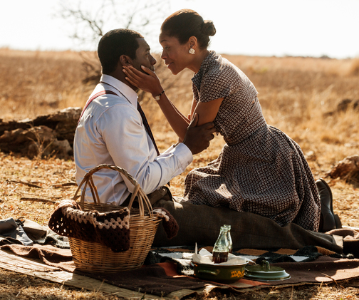 "The film, ""Long Walk to Freedom,"" has already earned $427,000 (Rand 4.4 million), according to Videovision Entertainment."