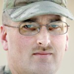 Sgt. James Bird of North Yarmouth, photographed Tuesday, December 31 2013 for soldier profiles.