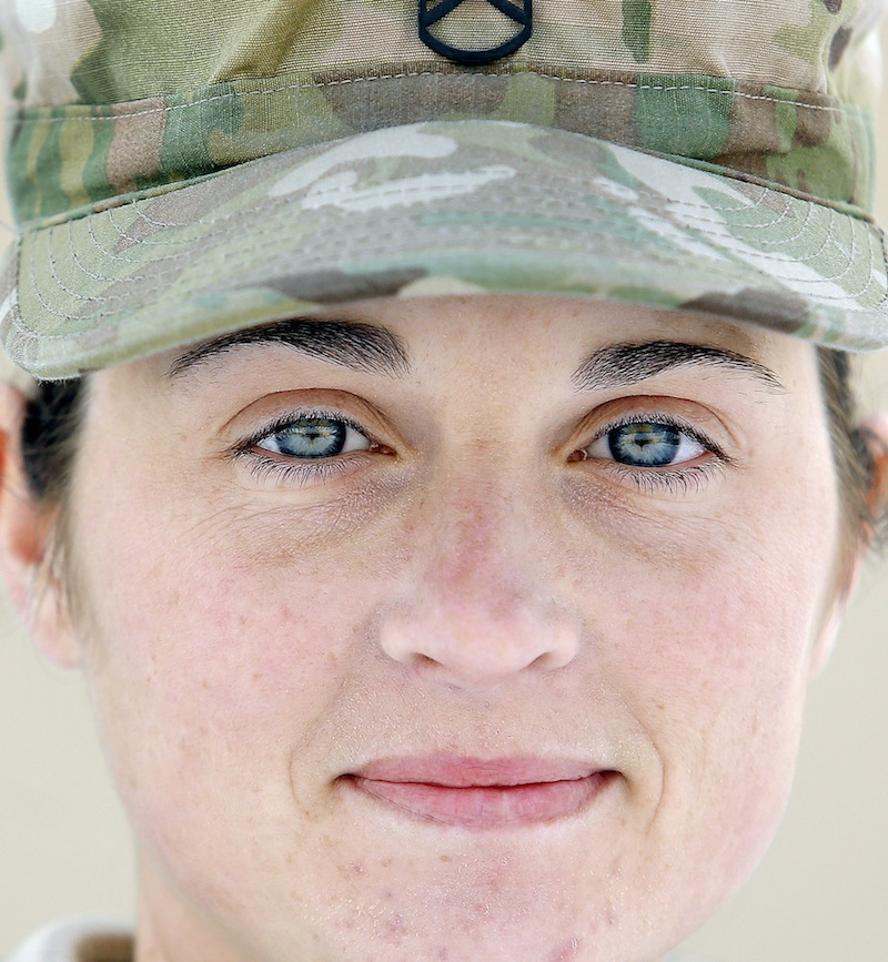 Staff Sgt. Shannon Trepanier of Sanford, photographed Tuesday, December 31, 2013 for soldier profiles.