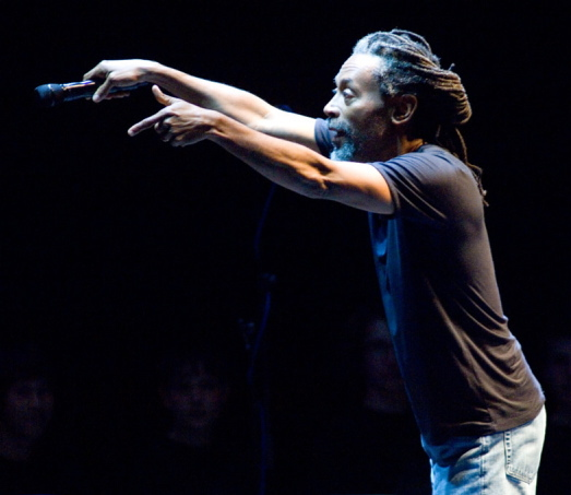 Bobby McFerrin is at Merrill Auditorium in Portland on April 13.