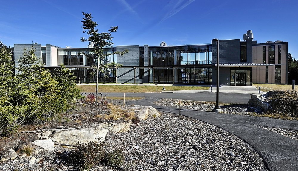 The Bigelow Laboratory for Ocean Sciences in East Boothbay, open since last spring, centralizes research that was spread among several locations. It is Maine's only research facility to receive the top environmental design rating.