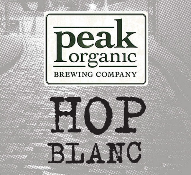 Peak Organic's new Hop Blanc is a bit more sophisticated than its sibling, Hop Noir.
