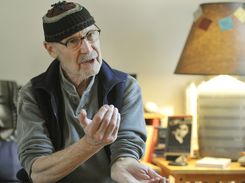 Past Portland poet laureate Martin Steingesser is bringing a performing group from Maine to Auschwitz to perform his