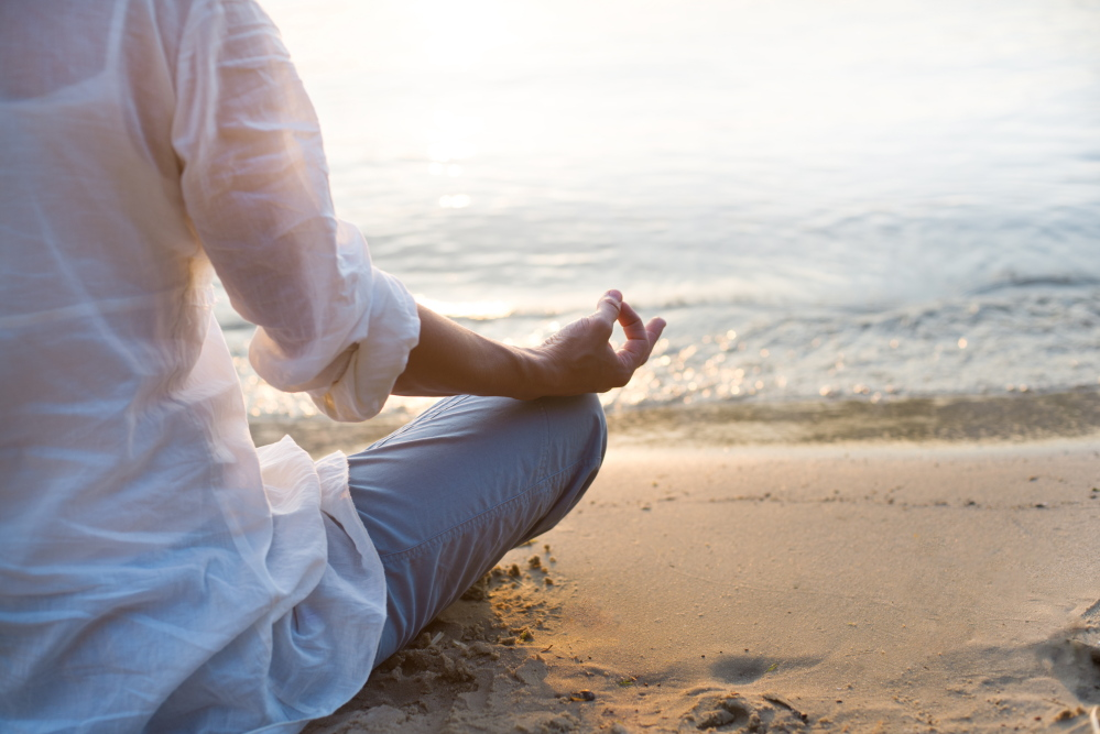 Patients who underwent about an eight-week training program for mindfulness meditation showed improvement in symptoms of anxiety, depression and pain.