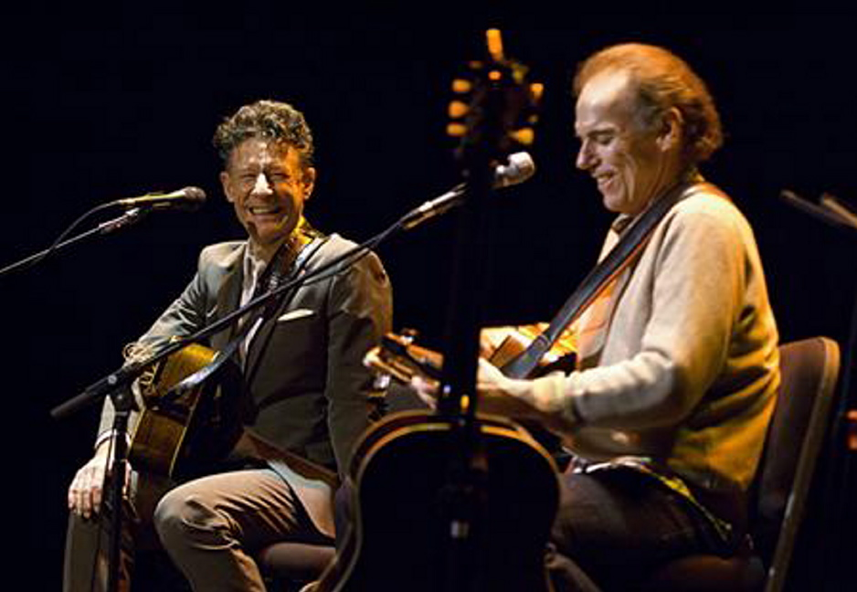 Lyle Lovett and John Hiatt will play the Collins Center for the Arts at the University of Maine, Orono, on Jan. 16 after a show Tuesday at the Stone Mountain Arts Center in Brownfield and a sold-out concert Wednesday at Merrill Auditorium in Portland.