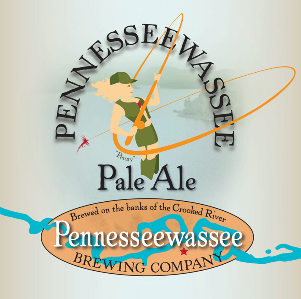 Pennesseewassee Pale Ale, brewed in Harrison, features spicy and floral hops well-balanced by a crisp malt.